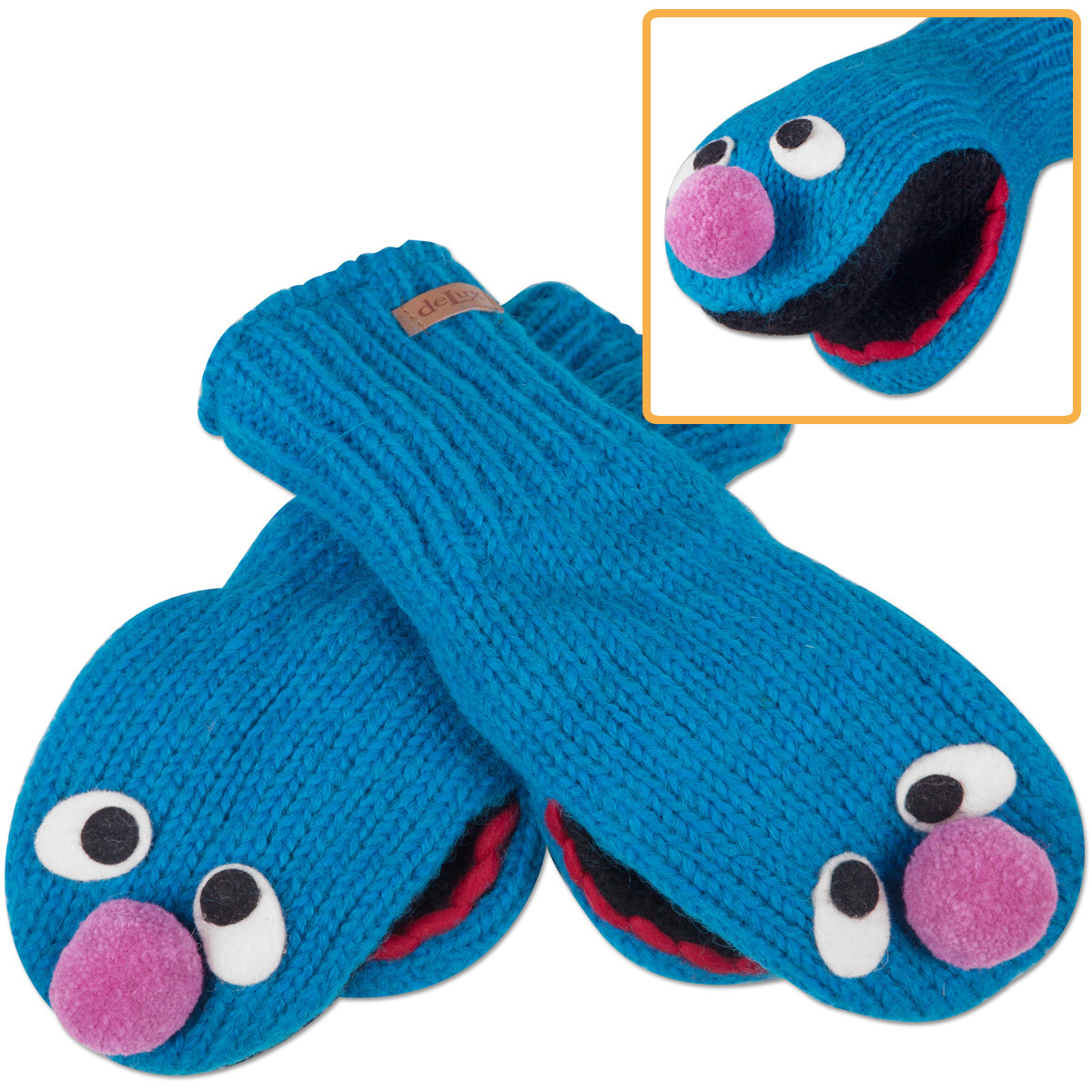 Grover Kids Mittens