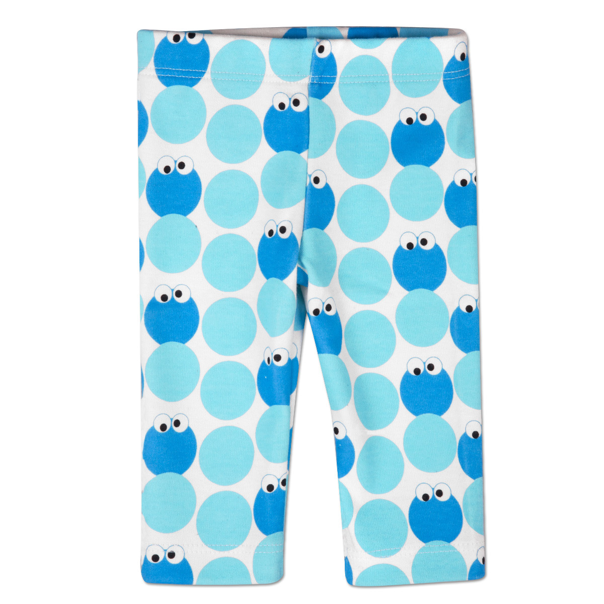 Cookie Monster Pattern Leggings