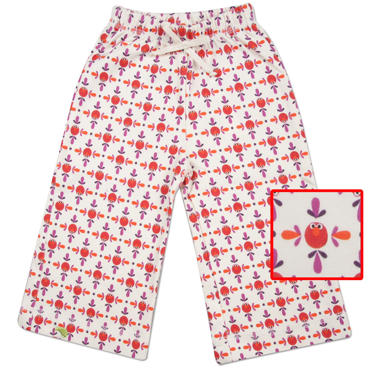Elmo Pattern Karate Pants