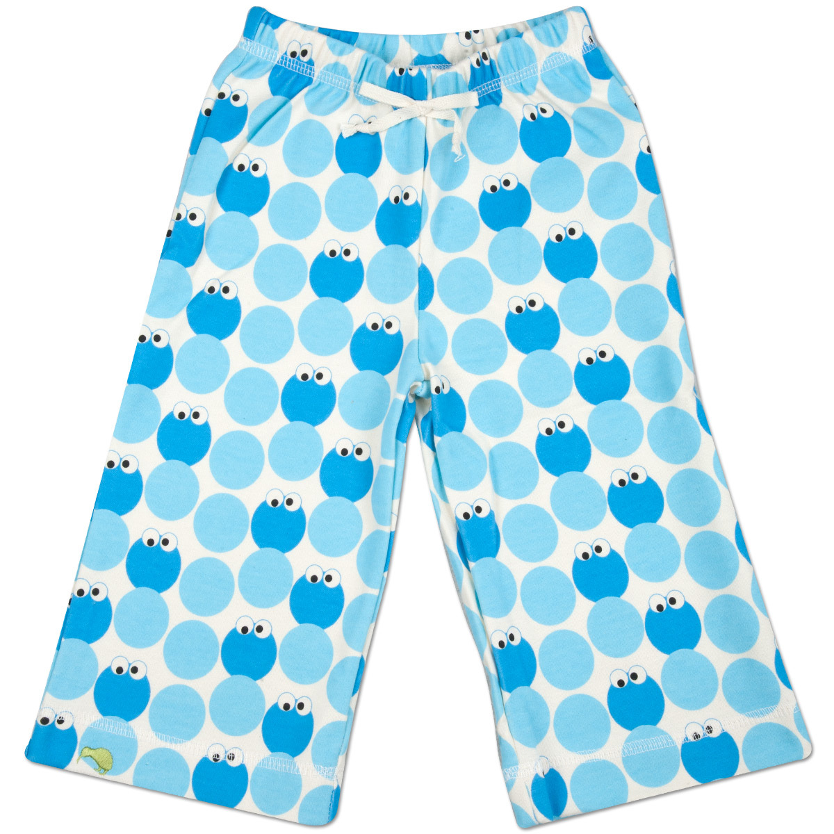 Cookie Monster Pattern Karate Pants