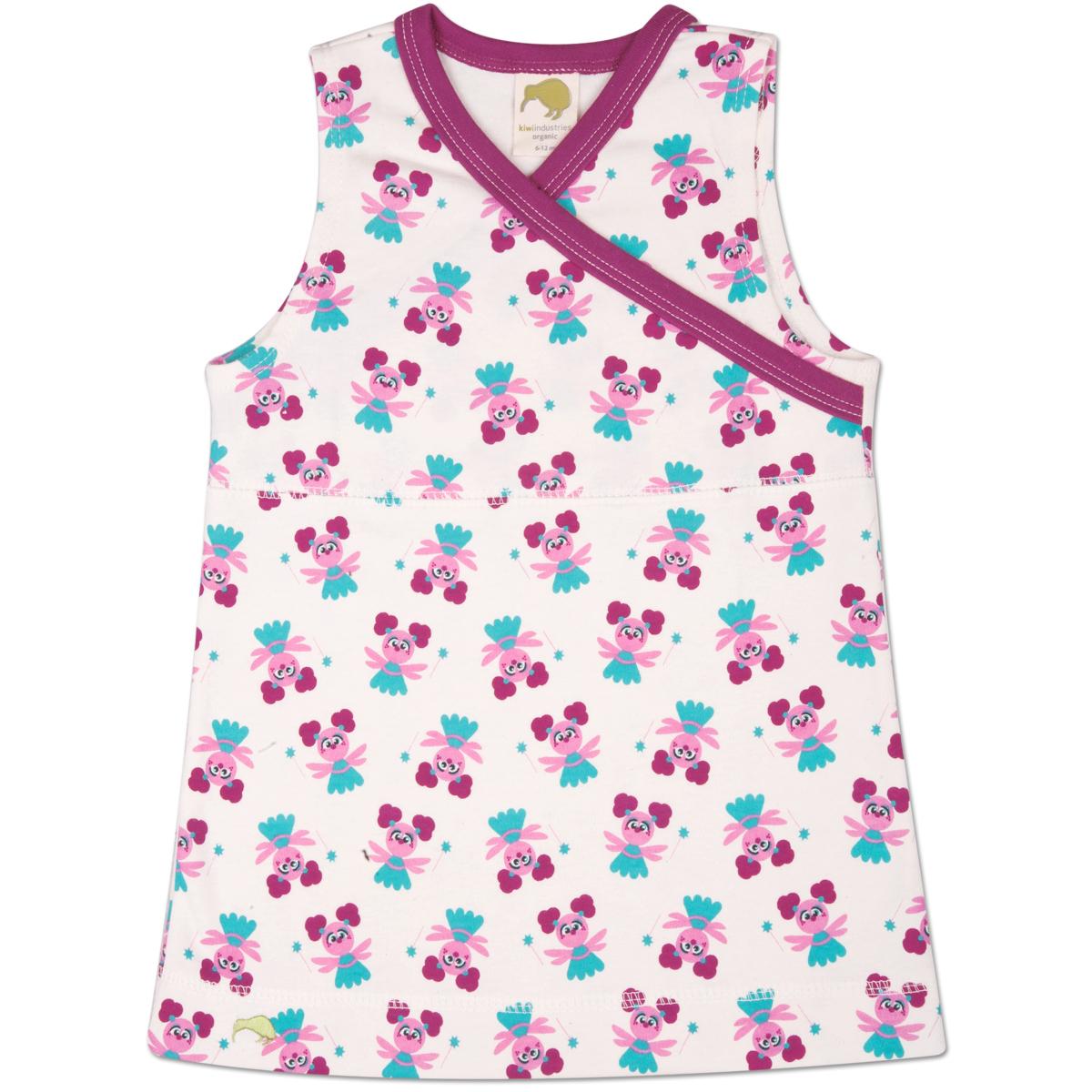 Abby Pattern Infant Jumper Dress