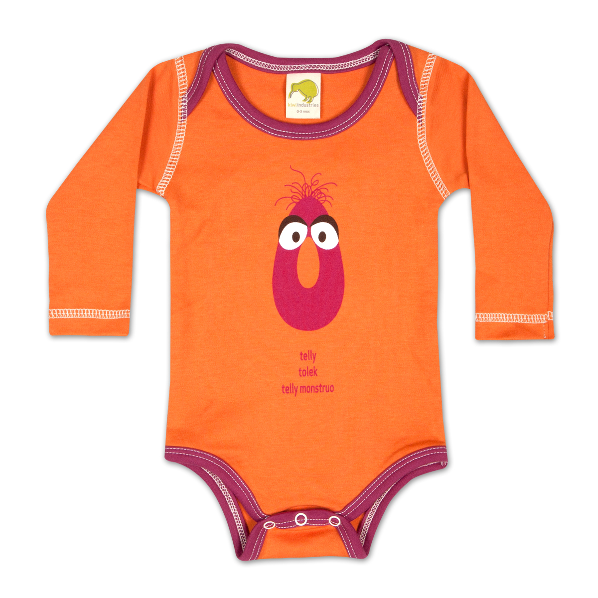 Telly Monster Around the World Onesie
