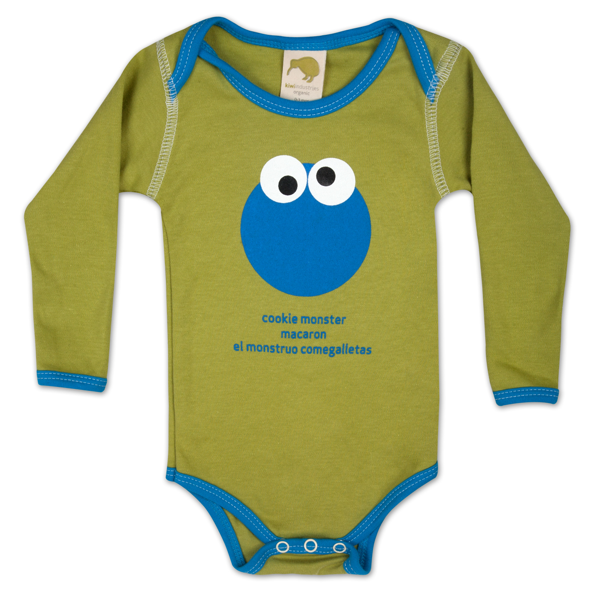 Cookie Monster Around the World Onesie