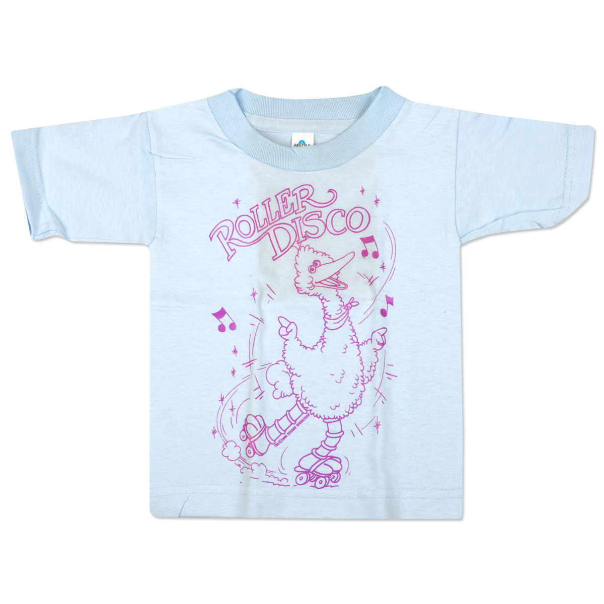 Big Bird Roller Disco Toddler T-Shirt