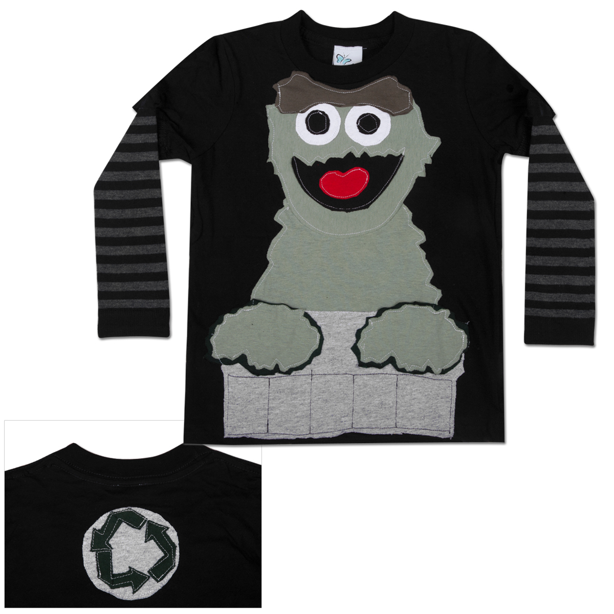 MORFS Happy Oscar Toddler Sock T-shirt