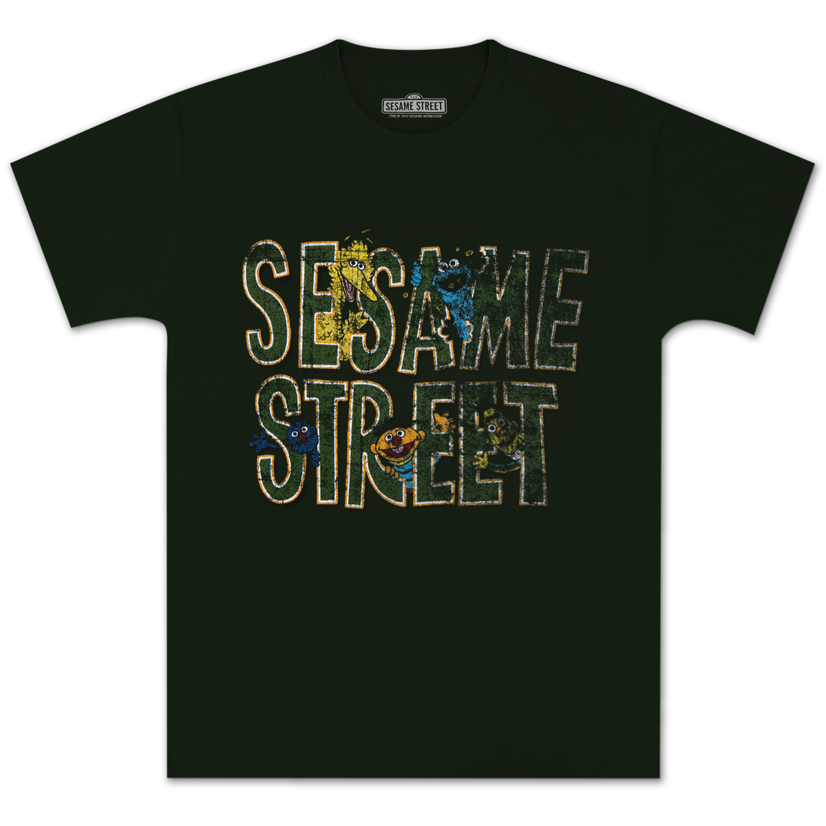 Sesame Street Group Logo T-shirt