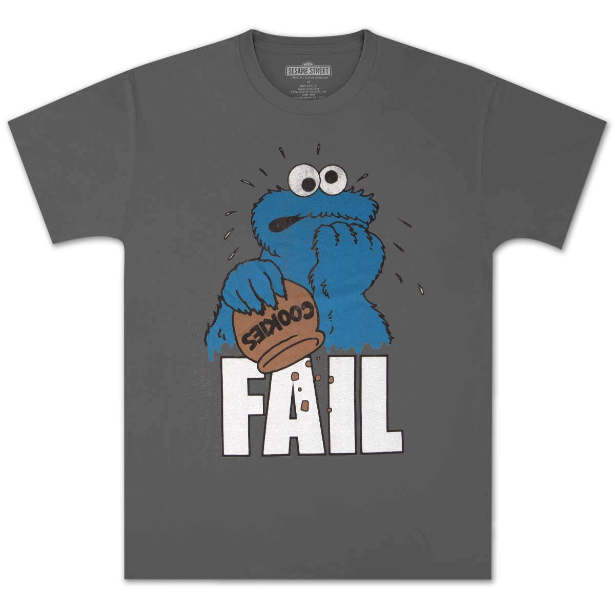 Cookie Monster Fail T-shirt