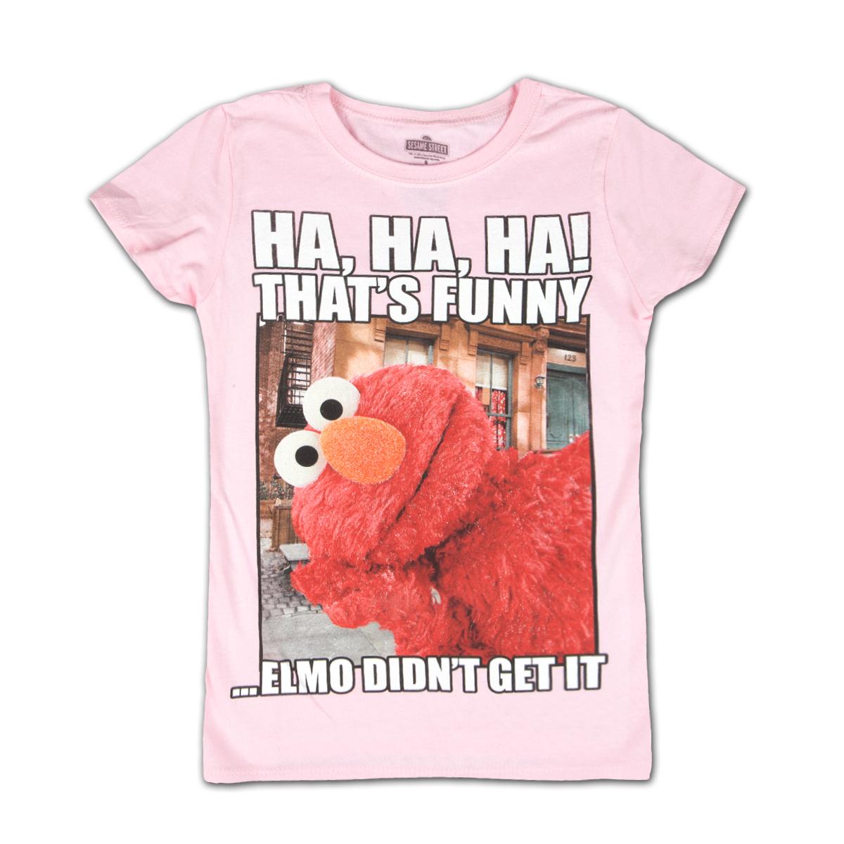 Sesame Street Elmo Funny Girls Tee