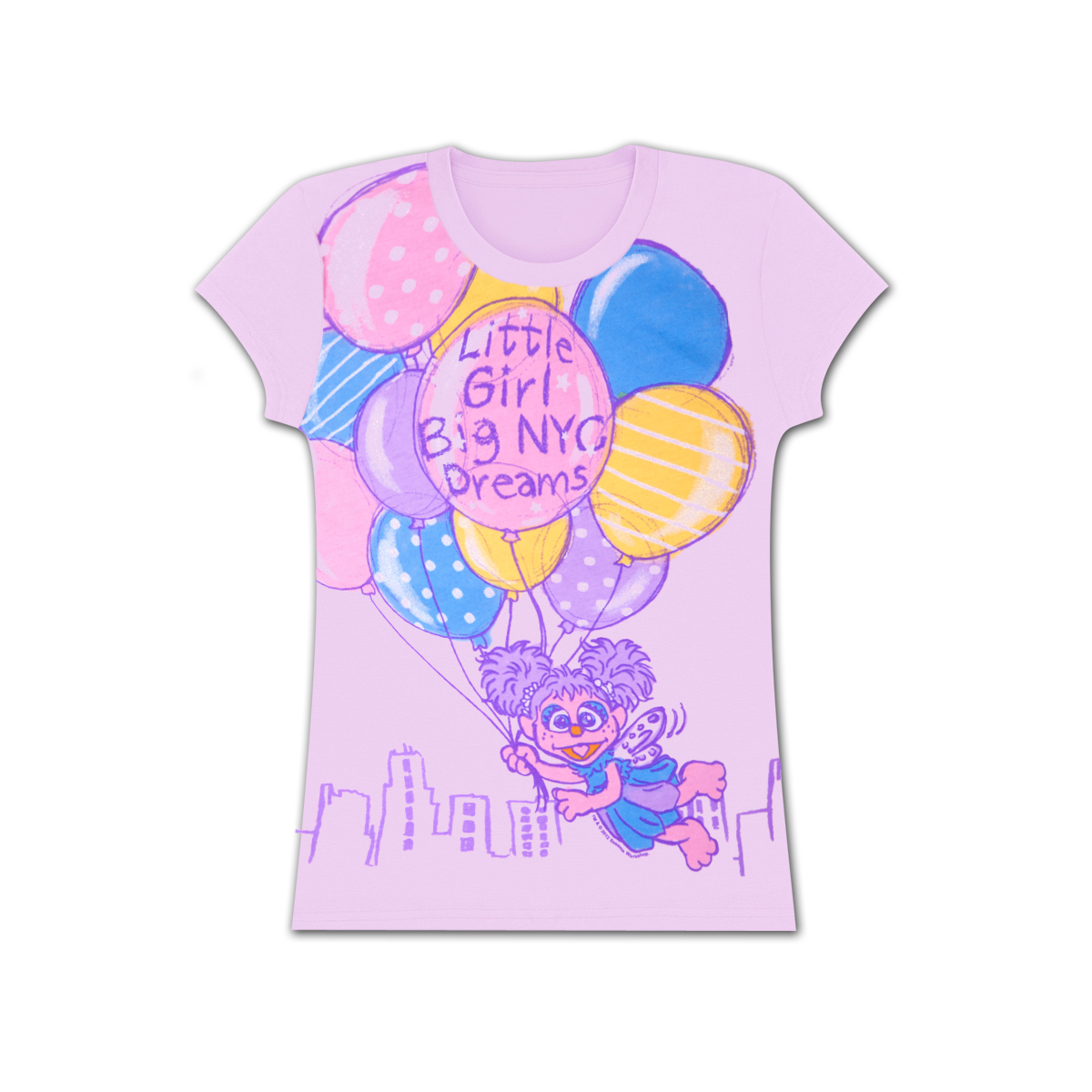 Abby Little Girl, Big NYC Dreams Tee