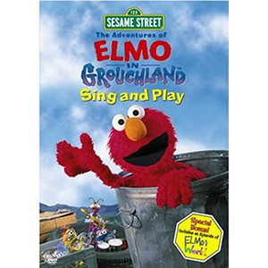 Elmo In Grouchland Sing And Play DVD
