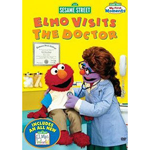 Elmo Visits the Doctor DVD