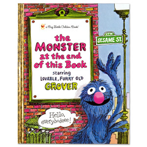 The Monster At The End Of This Book - Golden Book