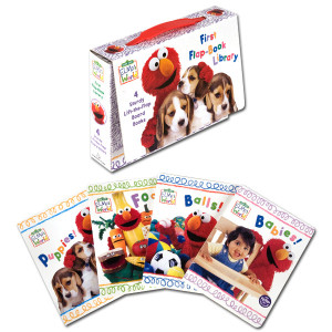 Elmo's World: First Flap-Book Library Book