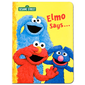 Elmo Says Book