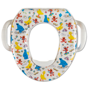 "Sesame Soft Potty Seat ""Play With Me"""