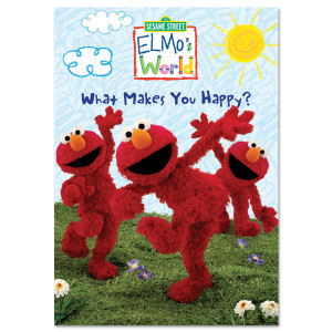 Elmo's World: What Makes You Happy? DVD