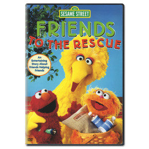 Friends To The Rescue DVD