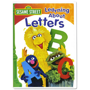 Sesame Street • Best Sellers • Learning About Letters DVD