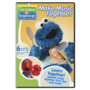 Sesame Beginnings: Make Music Together DVD