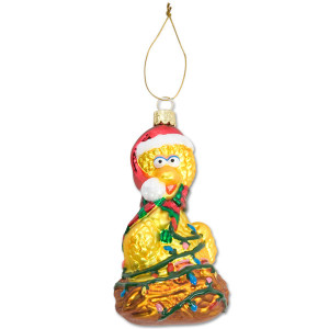 Big Bird Nest Glass Ornament