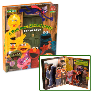 A Walk Down Sesame Street Pop-Up Book