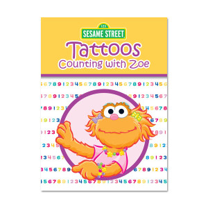 Counting w/ Zoe Tattoo Book