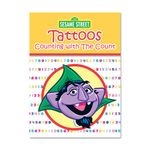 Counting w/ The Count Tattoo Book