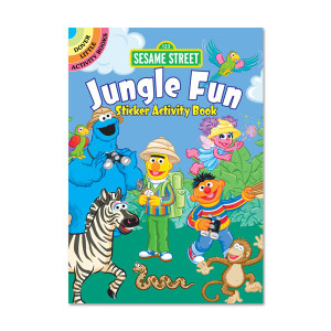 Sesame Street Jungle Fun Sticker Activity Book