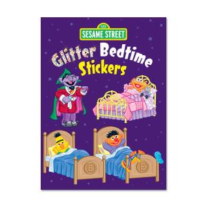 Sesame Street Glitter Bedtime Sticker Book
