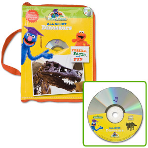 All About Dinosaurs Book/CD/Poster