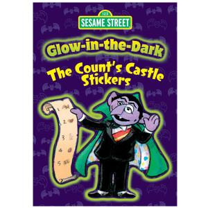 Glow-in-the-Dark Counts Castle Sticker Book