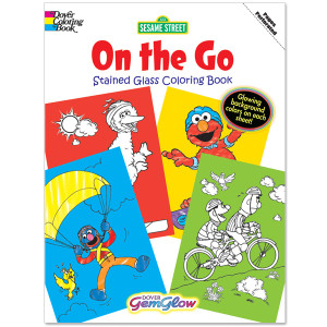 On the Go Gem Glow Coloring Book