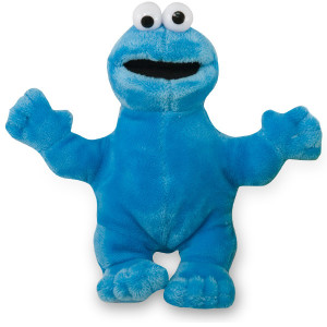 Cookie Monster Beanbag Plush
