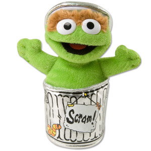 Oscar the Grouch Beanbag Plush