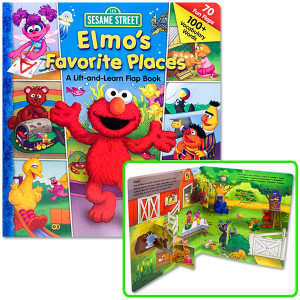 Elmo's Favorite Places Book