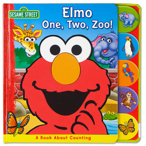 Elmo One, Two, Zoo! Book