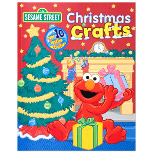 Sesame Street Christmas Crafts Book