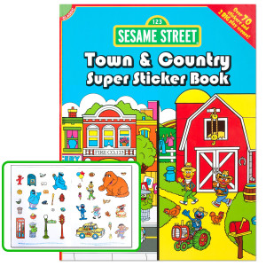 Town & Country Super Sticker Book