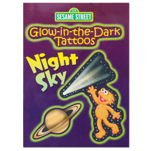 Glow-in-the-Dark Night Sky Tattoo Book