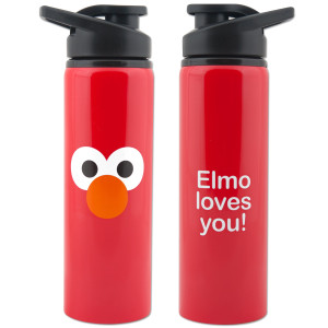 Elmo Stainless Steel Water Bottle