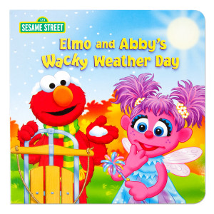 Elmo and Abby's Wacky Weather Day Book