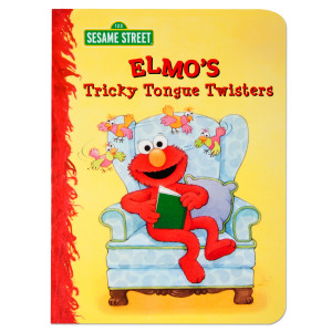Sesame Street Elmos Tricky Tongue Twisters Book