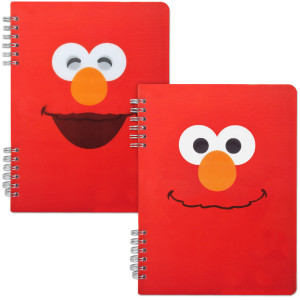 Elmo Spiral Notebook