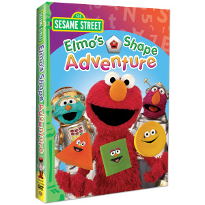 Sesame Street: Elmo's Shape Adventure DVD