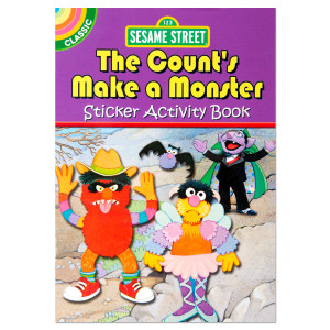 Classic Sesame Street: The Count's Make a Monster Sticker Activity Book