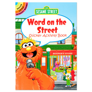 Sesame Street: Word on the Street Sticker Activity Book