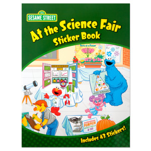 Sesame Street: At the Science Fair Sticker Book