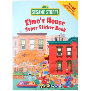 Elmo's House Super Sticker Book