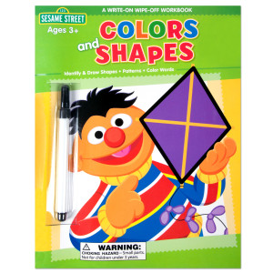 Sesame Street Colors and Shapes Workbook