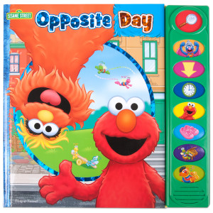 Sesame Street Opposite Day Sound Book